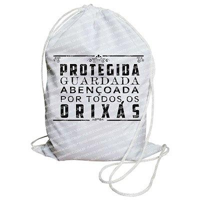 Mochilinha para Guias / Colares / Fios de Contas - Protegida e Guardada