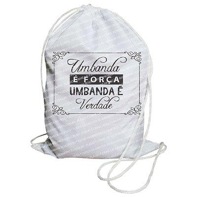 Mochilinha para Guias / Colares / Fios de Contas - Umbanda é Força