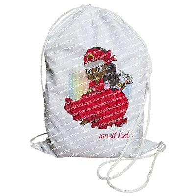 Mochilinha para Guias / Colares / Fios de Contas - Iansã Kids