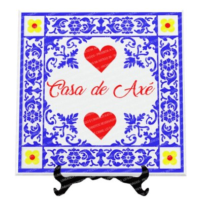 Azulejo Casa de Axé