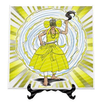 Azulejo Iansã (Amarelo)