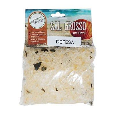 Banho de Defesa - Sal Grosso com Ervas