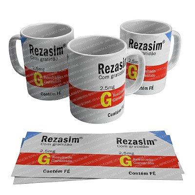 Caneca Cuidados Rezasim