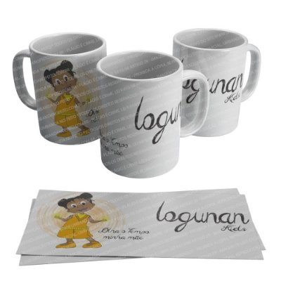 Caneca Logunan Kids