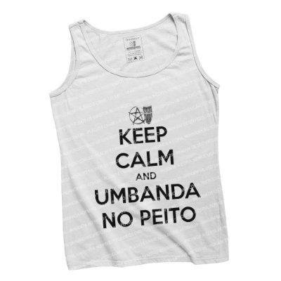 Regatinha Keep Calm and Umbanda No Peito