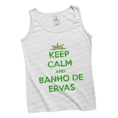 Regatinha Keep Calm and Banho de Ervas