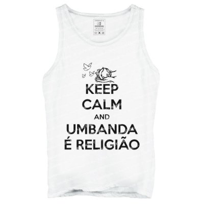 Regata Keep Calm and Umbanda é Religião