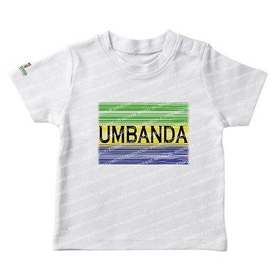 Camiseta Infantil Umbanda em Cores