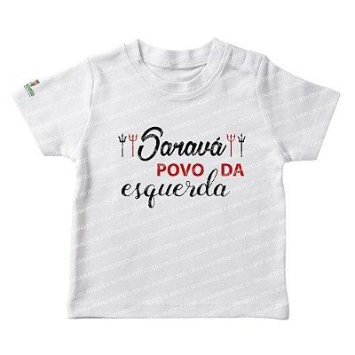 Camiseta Infantil Saravá Povo da Esquerda