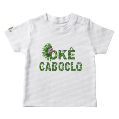 Camiseta Infantil Caboclo Cocar
