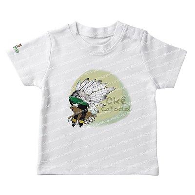 Camiseta Infantil Saravá Okê Caboclo