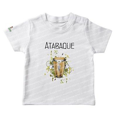 Camiseta Infantil Atabaque
