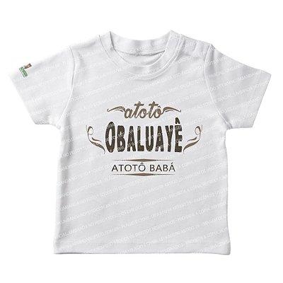 Camiseta Infantil Atotô Babá