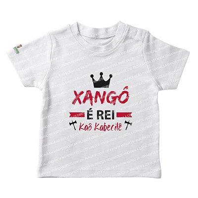 Camiseta Infantil Xangô é Rei