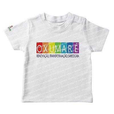 Camiseta Infantil Renovação, Transformação, Sabedoria