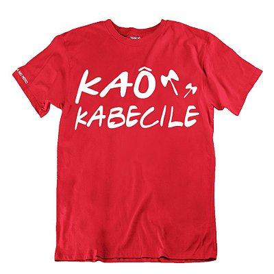Camiseta Vermelha Kaô Kabecile
