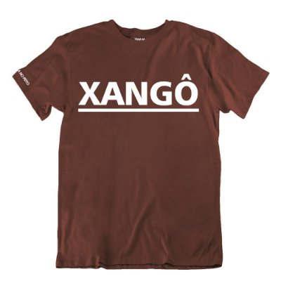 Camiseta Marrom Xangô