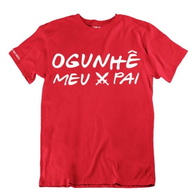 Camiseta Vermelha Ogunhê