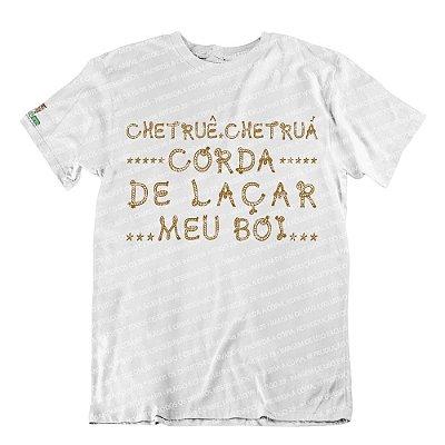 Camiseta Corda de Laçar Meu Boi