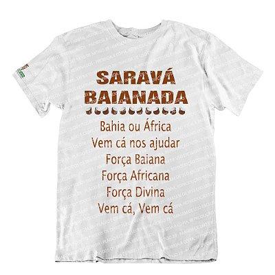 Camiseta Saravá Baianada
