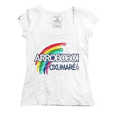 Baby Look Arco-Íris Sagrado