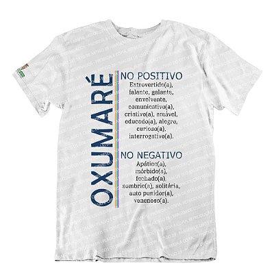 Camiseta Características Filho(a) Oxumaré