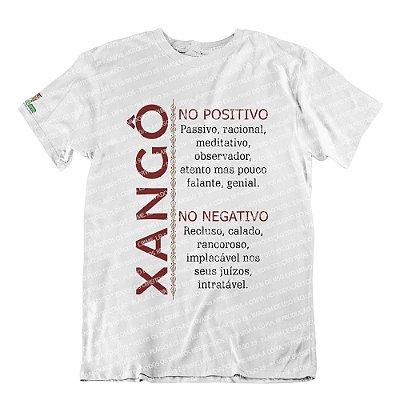 Camiseta Características Filho(a) Xangô