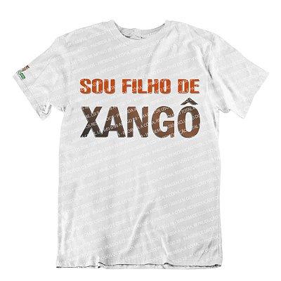 Camiseta Sou Filho de Xangô