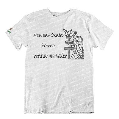 Camiseta Meu Pai Oxalá é o Rei