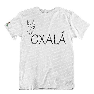 Camiseta Oxalá é Paz