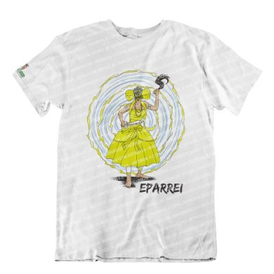 Camiseta Iansã Dona dos Ventos (amarela)