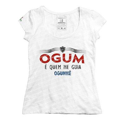 Baby Look Ogum é Quem Me Guia