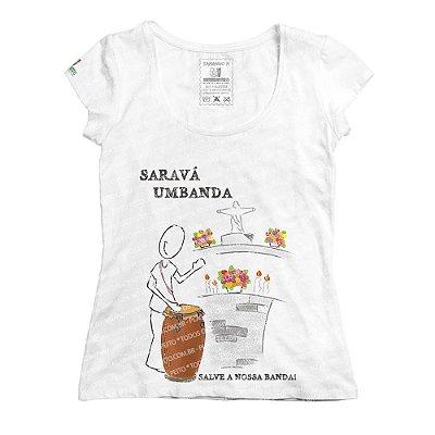 Baby Look Saravá Umbanda