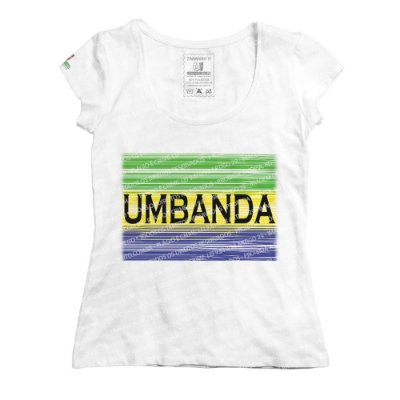 Baby Look Umbanda em Cores