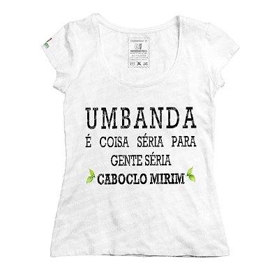 Baby Look Umbanda é Coisa Séria