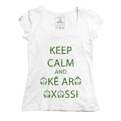 Baby Look Keep Calm and Okê Arô