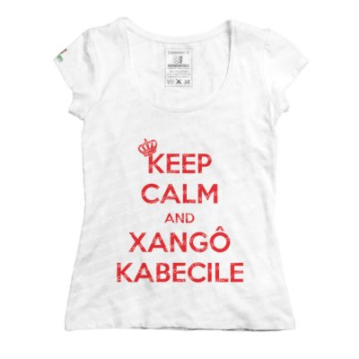 Baby Look Keep Calm and Xangô Kabecilê