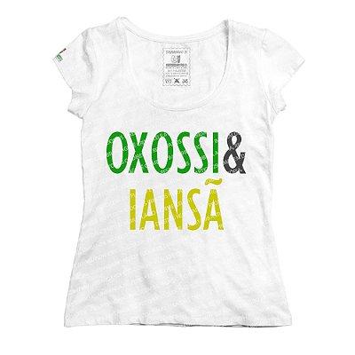 Baby Look Coleção Pai & Mãe: Oxossi & Iansã