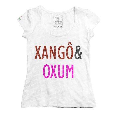 Baby Look Coleção Pai & Mãe: Xangô & Oxum