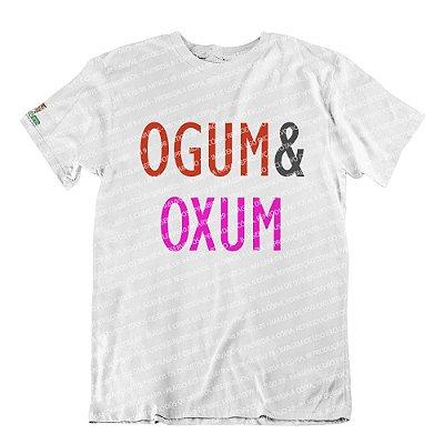 Camiseta Coleção Pai & Mãe: Ogum & Oxum