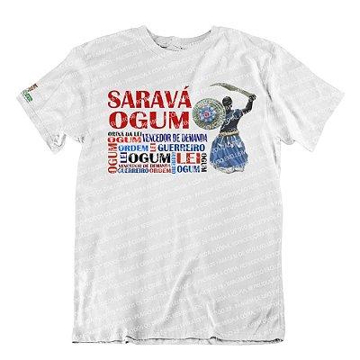 Camiseta Saravá Ogum II