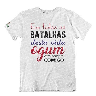 Camiseta Ogum Sempre Comigo