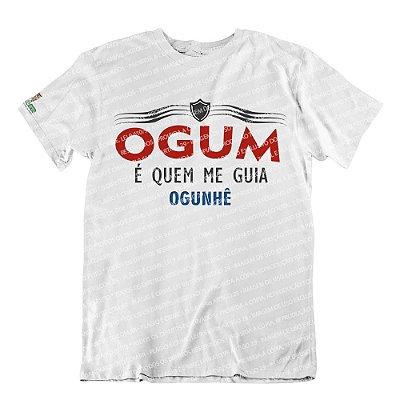 Camiseta Ogum é Quem Me Guia
