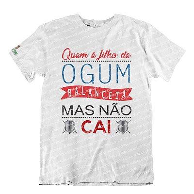 Camiseta Quem é Filho de Ogum