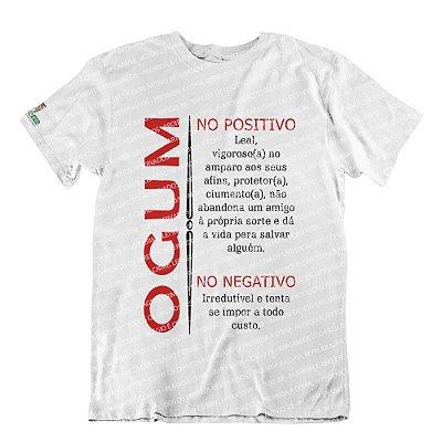 Camiseta Características Filho(a) Ogum