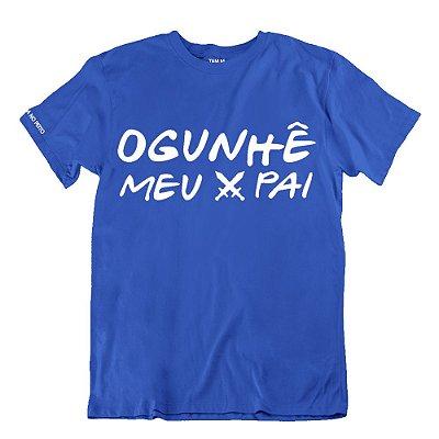 Camiseta Azul Ogunhê