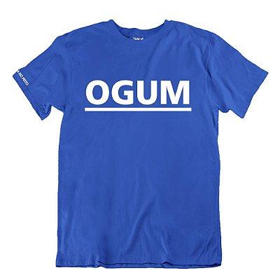 Camiseta Azul Ogum