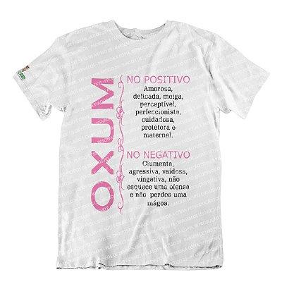 Camiseta Características Filha(o) Oxum