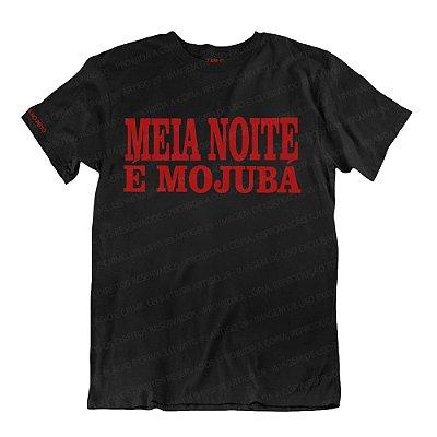 Camiseta Preta Meia Noite é Mojubá