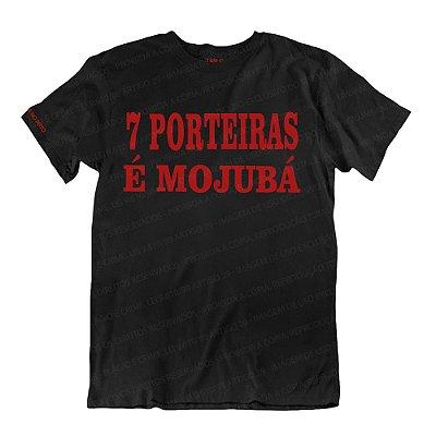 Camiseta Preta 7 Porteiras é Mojubá